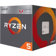 Procesador AMD RYZEN 5 2400G Quad Core 3.6 GHz (3.9 GHz Turbo) AM4 Radeon Vega RX 11