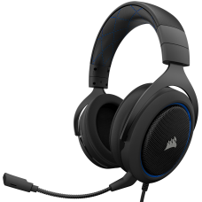 Audifono Gamer Corsair HS50 Blue - PC, Xbox One, PS4, Switch