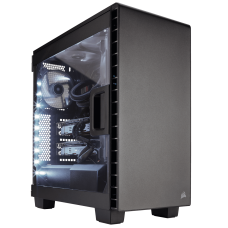 Corsair Carbide Series Clear 400C Compact Mid Tower ATX White