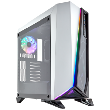 Corsair Carbide Series SPEC-OMEGA RGB Mid Tower Tempered Glass - White
