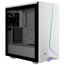 Corsair Carbide SPEC-06 RGB Tempered Glass White