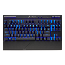 Corsair K63 Mecánico LED Blue Cherry MX Red - Inglés