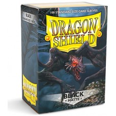 Dragon Shield Protectores Standar 100u Matte Black