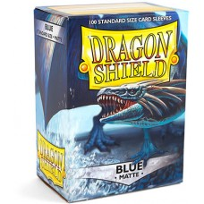 Dragon Shield Protectores Standar 100u Matte Blue