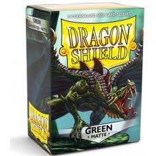 Dragon Shield Protectores Standar 100u Matte Green