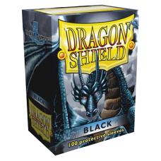 Dragon Shield Protectores Standar 100u Black
