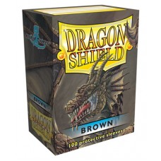 Dragon Shield Protectores Standar 100u Brown