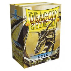Dragon Shield Protectores Standar 100u Gold