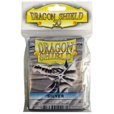 Dragon Shield Protectores Standar 50u Silver