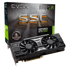 EVGA GeForce GTX 1060 SSC GAMING 6GB GDDR5 PCI Express x16 3.0 ACX & LED