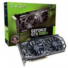 EVGA GeForce GTX 1080 Ti SC Black Edition GAMING 11GB GDDR5X PCI Express x16 3.0 iCX Cooler & LED