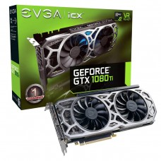 EVGA GeForce GTX 1080 Ti SC2 GAMING 11GB GDDR5X PCI Express x16 3.0 iCX Technology 9 Thermal Sensors & RGB LED G/P/M