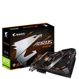 Tarjeta de Video GIGABYTE Aorus GeForce RTX 2080 XTREME 8G 3x Stacked WindForce 8GB 256-Bit GDDR6