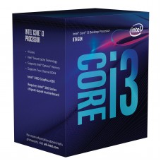 Procesador Intel Core i3-8100 Coffee Lake Quad-Core 3.6 GHz LGA 1151 (8va Gen) 65W