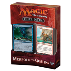 MTG Duel Decks Merfolk Vs Goblins Decks - Inglés