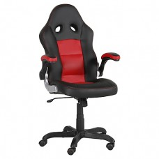 Perseat Scorpion Negro-Rojo