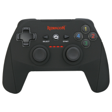 Control Gamer Redragon Harrow G808 Gamepad Wireless Dual Vibration Motors - PC, Xbox, PS3