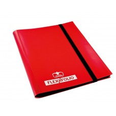 Ultimate Guard Carpeta FlexXfolio 4 pkt Rojo