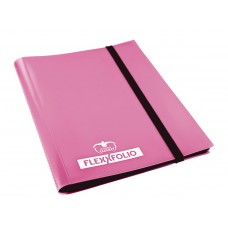 Ultimate Guard Carpeta FlexXfolio 4 pkt Rosado